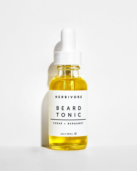 Herbivore Botanicals Beard Tonic Oil Cedar and Bergamot