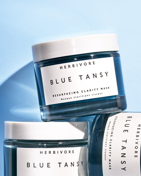Herbivore Botanicals Blue Tansy Invisible Pores Resurfacing Clarity Mask