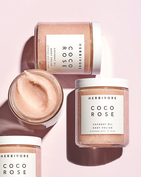 Herbivore Botanicals Coco Rose Exfoliating Body Scrub