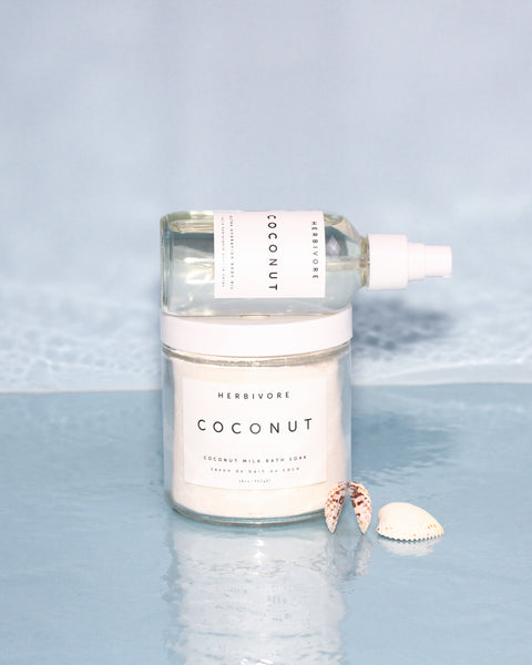 STAYCATION COCONUT Bath + Body Oil Duo