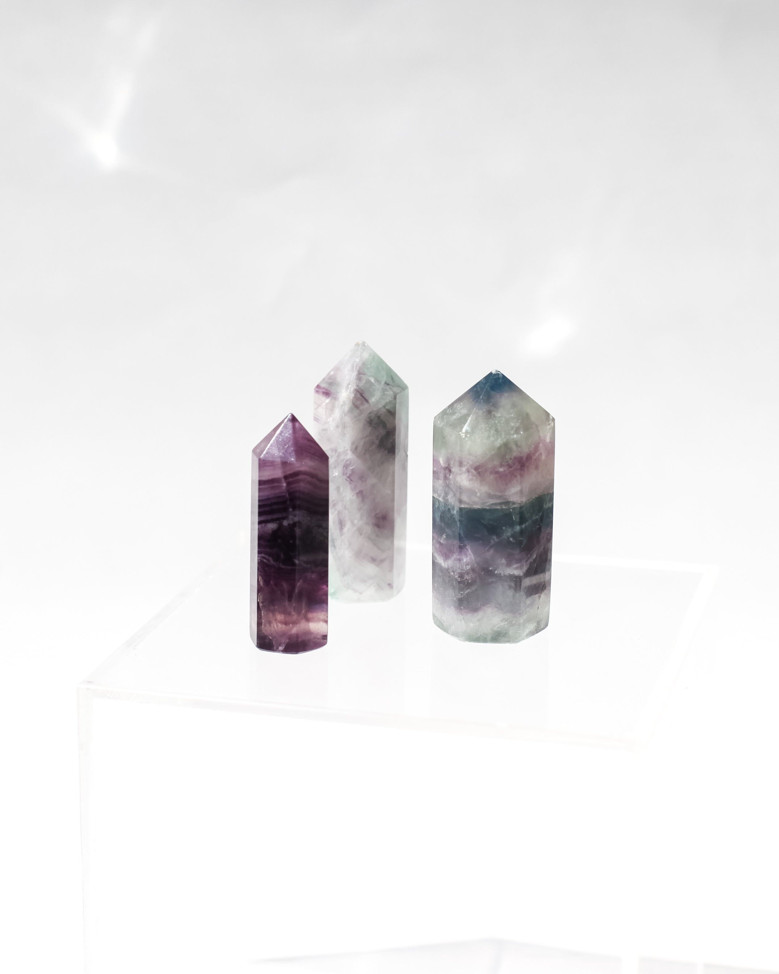 Flourite Crystal Point
