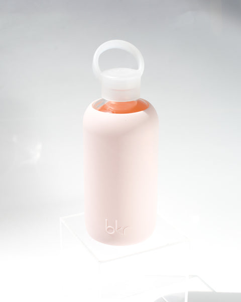 Glass Water Bottle / bkr