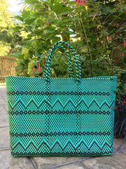 Handwoven Large Carryall Tote Bag