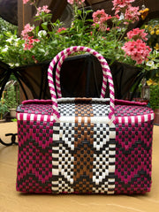 Handwoven Small Lonchera Tote Bag