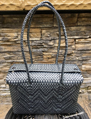 Handwoven Medium Lonchera Tote Shoulder Bag