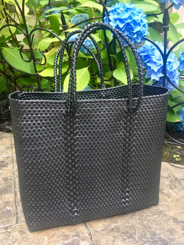 Handwoven Medium Carryall Tote Bag