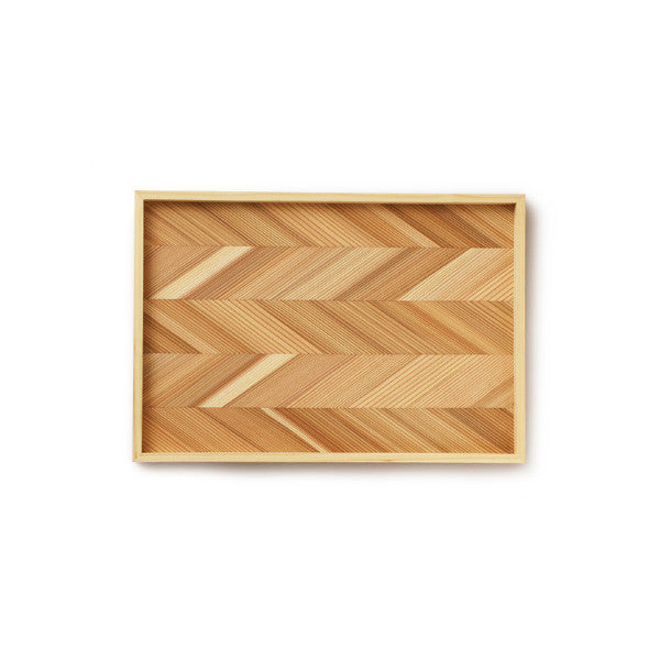 Japanese Cedar Wooden Tray