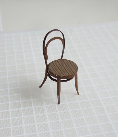 Paper model chair {Thonet no.14 chair}