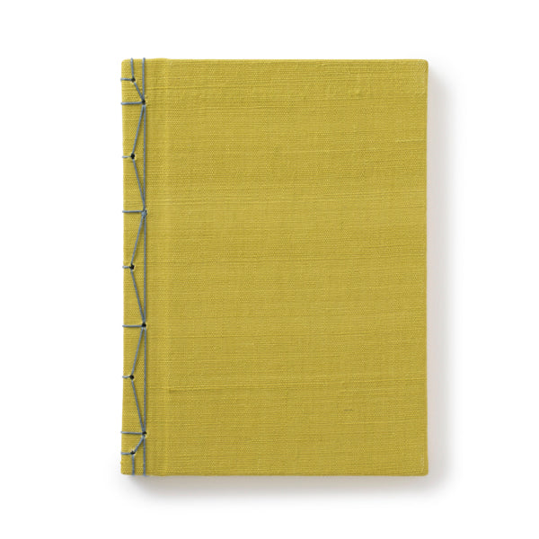 Handwoven Linen Japanese Notebooks