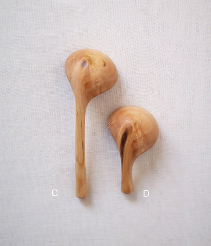 Branch Coffee Spoons {Momo Peach Wood}