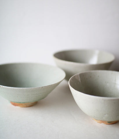 Ash Glaze Wan Rice/Cereal Bowl