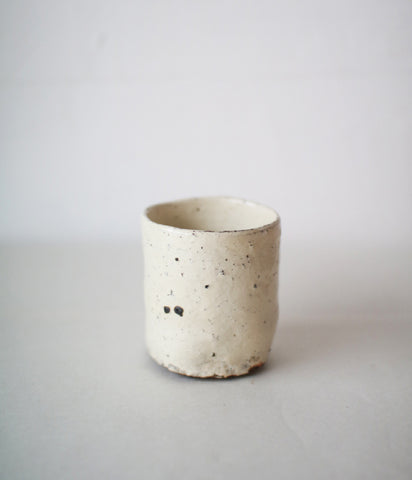 Shiro-kesho Teacup (white)
