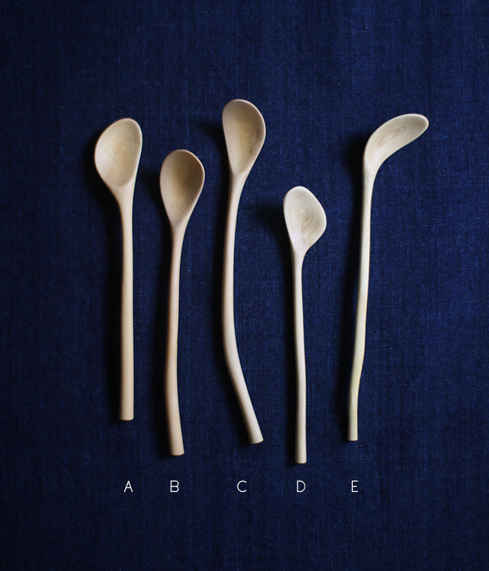 Small Branch Spoons A-E
