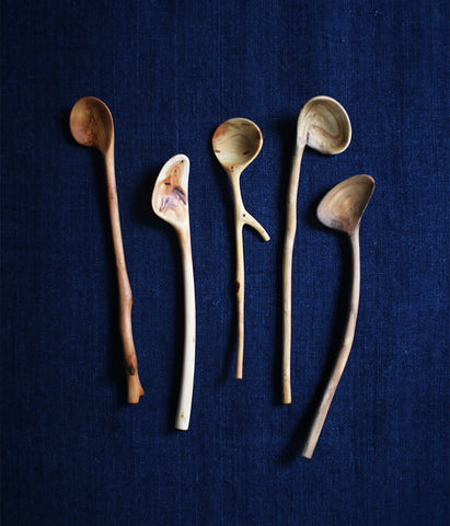 Small Branch Spoons F-J