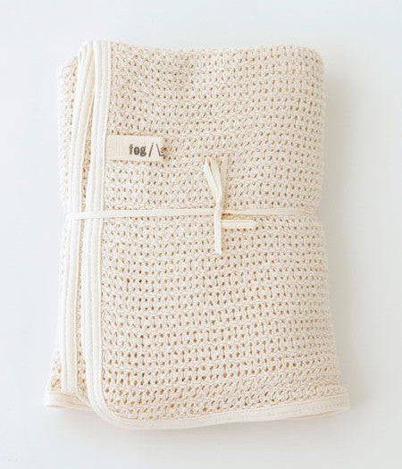fog linen work Baby Cotton Blanket