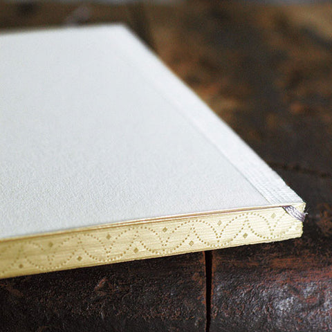 A6 Pocket Notebooks with Gold Leaf Press Edge