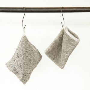 fog linen work Linen Massage Bath Mitten