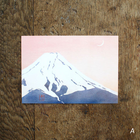 Mount Fuji Post Cards