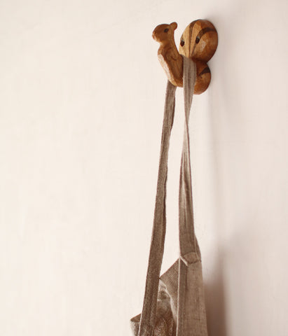 Squirrel Wall Hook