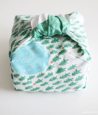 SOLD OUT - HARVEST handkerchief/furoshiki {mori to hoshi /day}