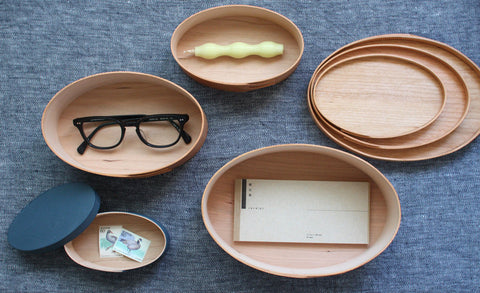 Oval Box Sakura Wood #4 - SOLD OUT