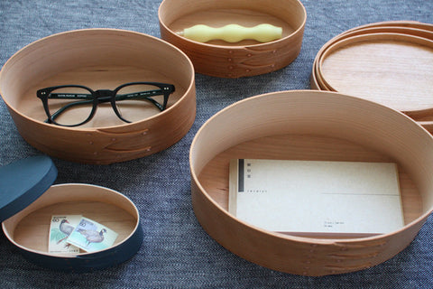 Oval Box Sakura Wood #3 (Will be shipped August-September)