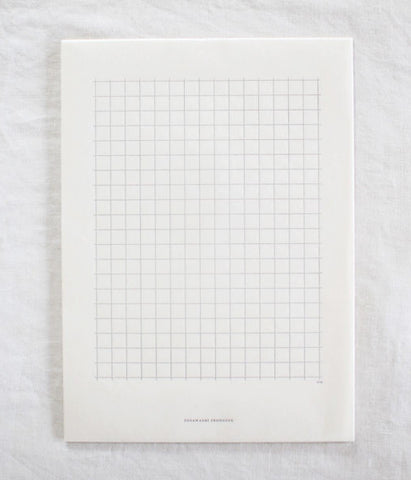 Letterpress Grid Washi Paper (backorder)