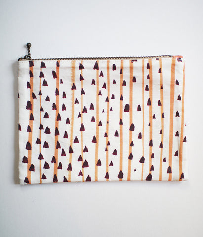 iloito Zipper Pouch {noshime stripes}