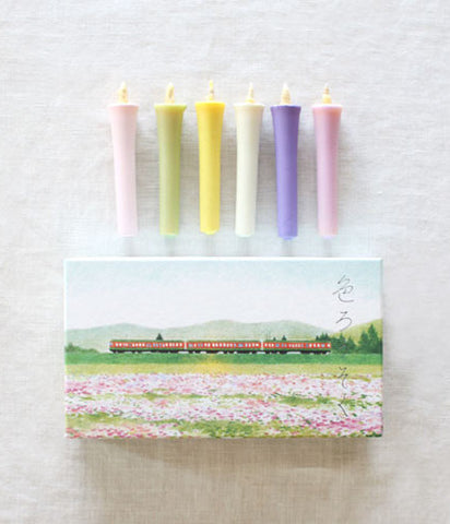 hitohito Japanese Candles {Spring}