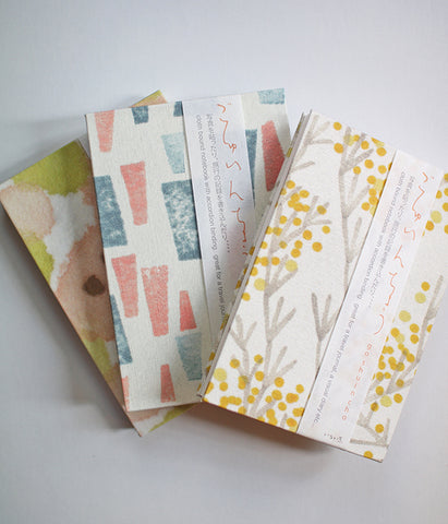iloito Accordion Style Fabric Notebooks