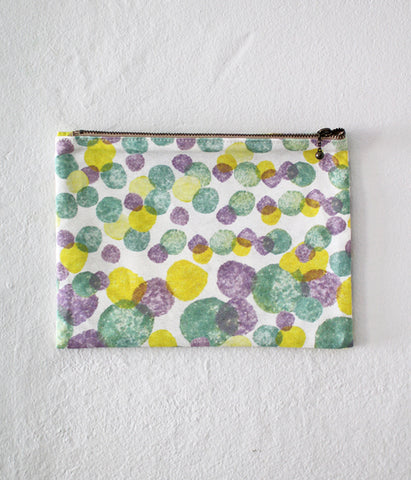 iloito Zipper Pouch {three colour tiles}