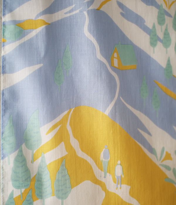 HARVEST wrapping cloth {Ryosen Yellow}