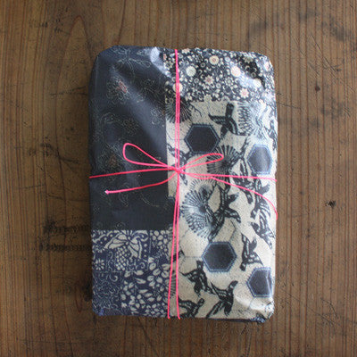 Vintage kimono patterns wrapping paper A