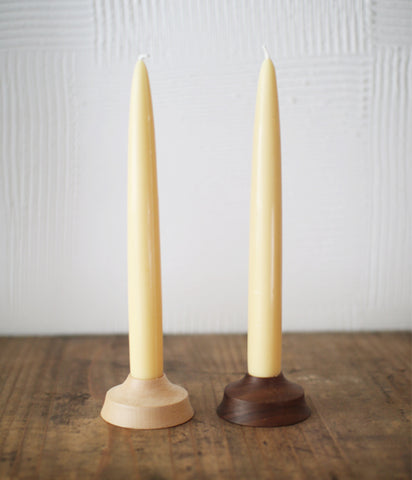 Wooden Taper Candle Holder
