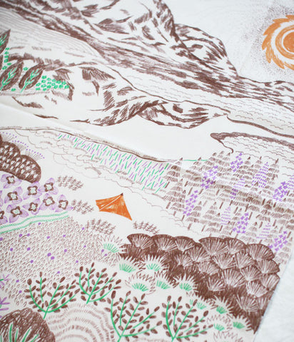 HARVEST handkerchief {midnight sun}