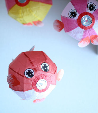 Japanese Paper Balloon {Fish 3 Set}