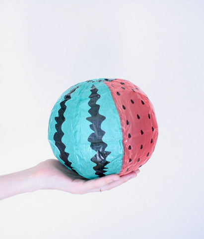 Japanese Paper Balloon {Watermelon}