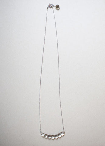 [SOLD OUT] Koto Tsuchiya HARRYS Miu Glass Necklace {Silver}