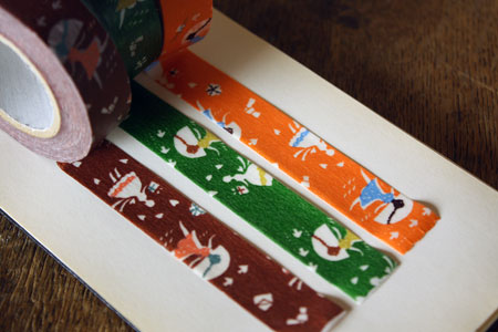Mihoko Seki Masking Tape 3 Roll Set {Love Letter}