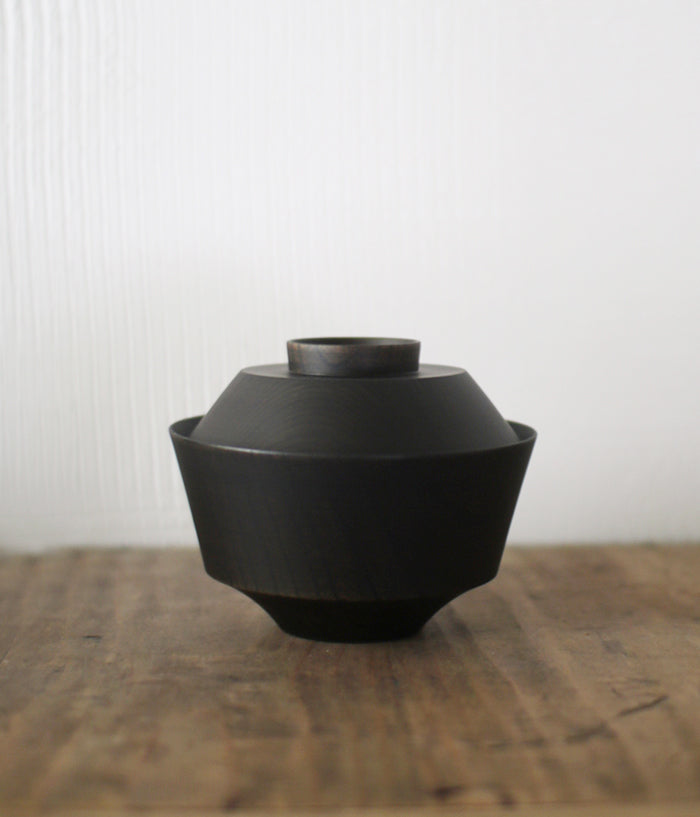 TSUMUGI Soup Bowl with Lid