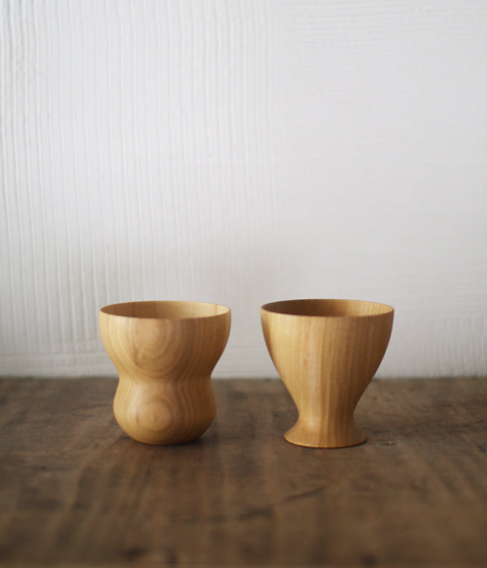 FORM Wood Sake Cup {TOKU}