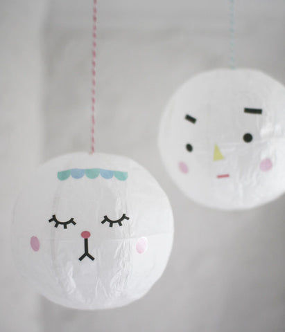 POLKAROS Paper Balloon Kamifusen Decoration Kit