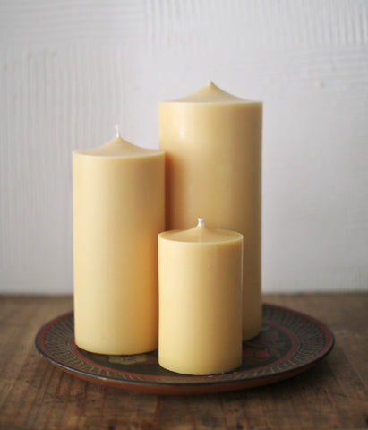 Rice Bran Wax Block Candles