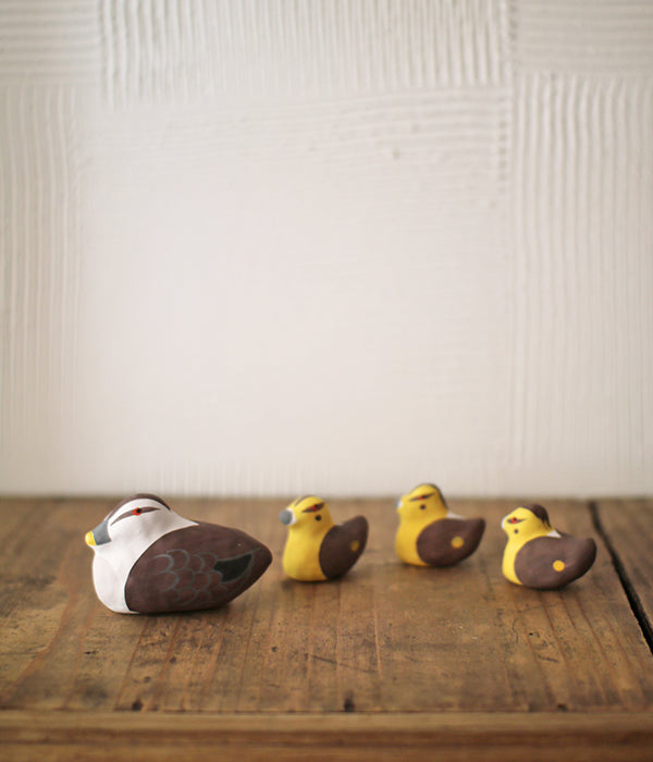 Hariko Paper Figurine {Duck Family}