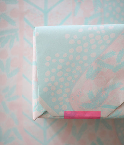 [SOLD OUT] Natsuko Kozue UGUiSU Wrapping Papers