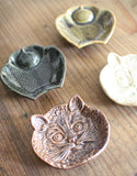 Ceramic Mini Dish - Cat