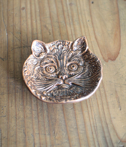 Ceramic Mini Plate - Cat