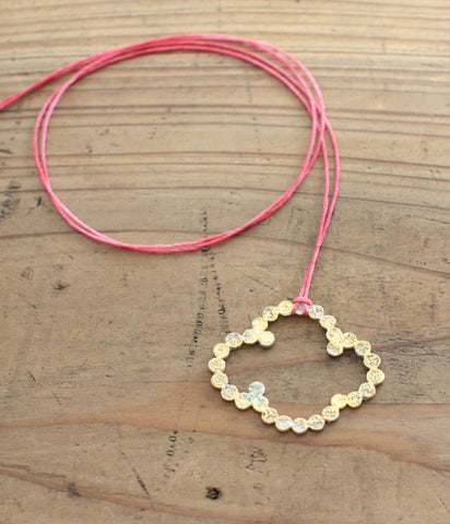 [Sold Out] Yasushi Jona Cloud Ring Necklace