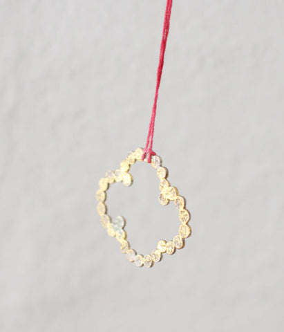 Yasushi Jona Cloud Ring Necklace