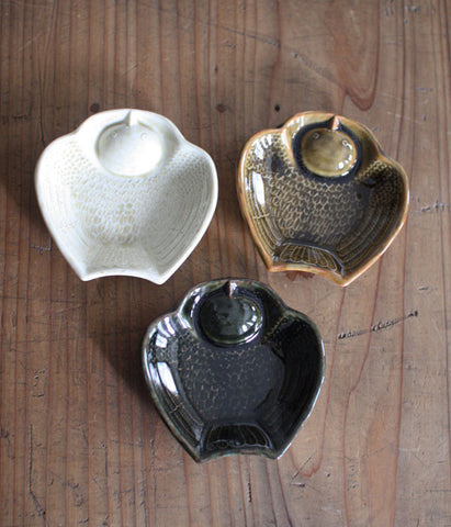 Ceramic Mini Plate - Fat Sparrow (BACKORDER)
